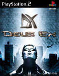 UK Boxshot of Deus Ex: The Conspiracy (PS2)