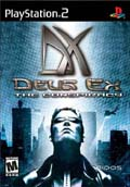 US Boxshot of Deus Ex: The Conspiracy (PS2)