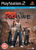 UK Boxshot of 25 to Life (PS2)