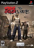 US Boxshot of 25 to Life (PS2)