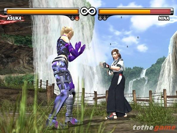 حصريا القتال الرائعة Tekken PS2