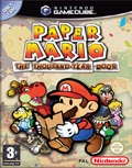 UK Boxshot of Paper Mario: The Thousand Year Door (GAMECUBE)