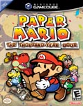 US Boxshot of Paper Mario: The Thousand Year Door (GAMECUBE)