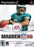 US Boxshot of Madden NFL 06 (PS2)