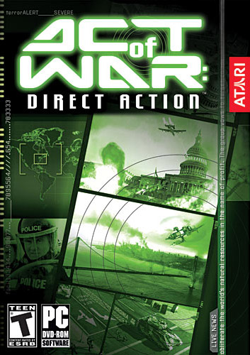 boxshot us large Act of War: Direct Action [PC]