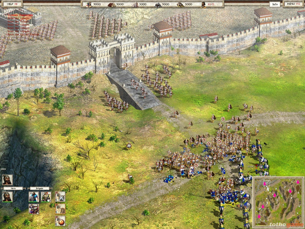 Screenshot of Alexander (PC)