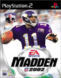 UK Boxshot of Madden NFL 2002 (PS2)