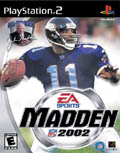 US Boxshot of Madden NFL 2002 (PS2)