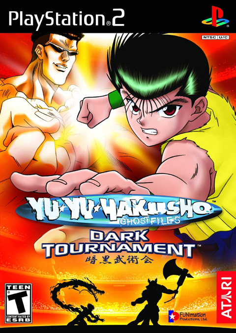 PS2 - Yu Yu Hakusho: Dark Tournament Boxshot_us_large
