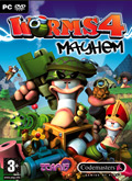 UK Boxshot of Worms 4: Mayhem (PC)