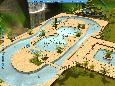 Screenshot of Rollercoaster Tycoon 3: Soaked! (PC)