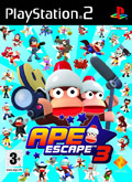 UK Boxshot of Ape Escape 3 (PS2)