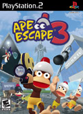 US Boxshot of Ape Escape 3 (PS2)