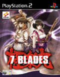 UK Boxshot of 7 Blades (PS2)