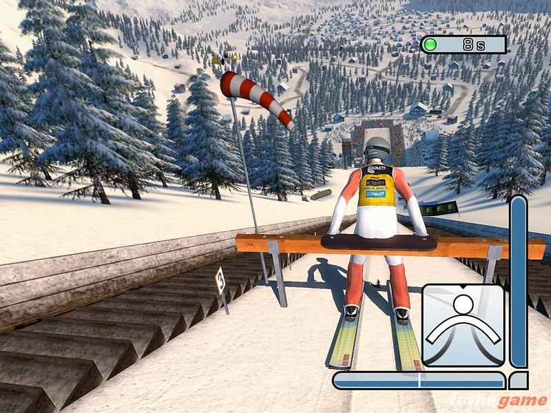 screen2 large RTL Ski Jumping 2005 RELOADED PC Download