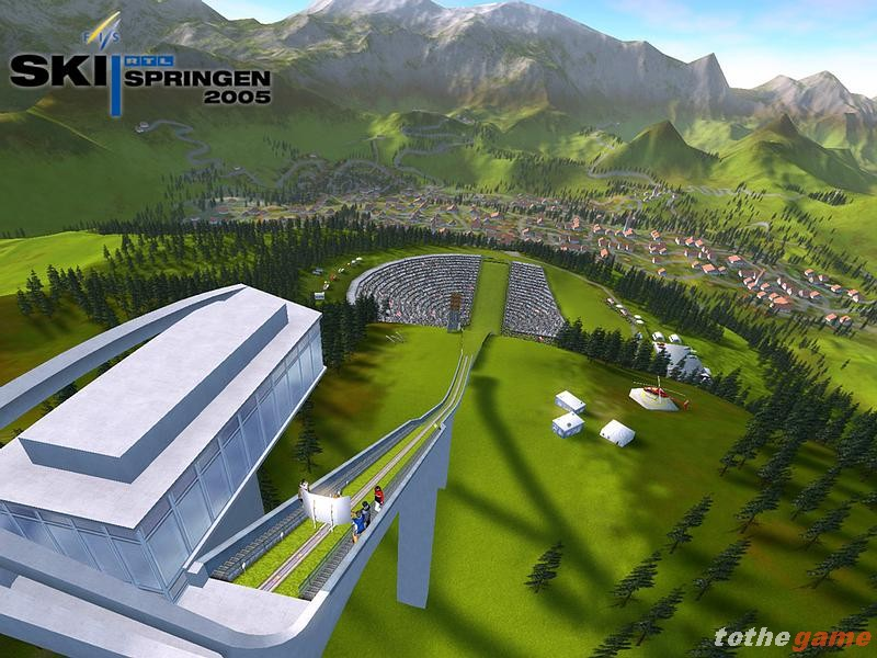 screen3 large RTL Ski Jumping 2005 RELOADED PC Download