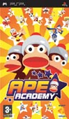 UK Boxshot of Ape Academy (PSP)