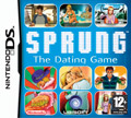 UK Boxshot of Sprung: The Dating Game (DS)