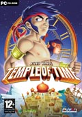 UK Boxshot of Billy Blade: Temple of Time (PC)