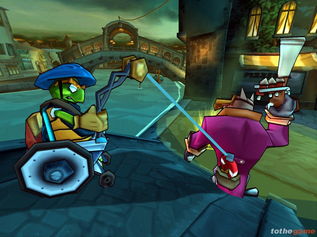 Screenshot of Sly 3: Honour Among Thieves (PS2)