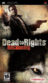 US Boxshot of Dead to Rights: Reckoning (PSP)