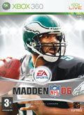 UK Boxshot of Madden NFL 06 (XBOX360)