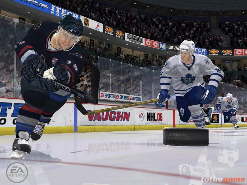 Screenshot of NHL 06 (PC)