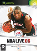 UK Boxshot of NBA Live 06 (XBOX)