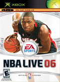 US Boxshot of NBA Live 06 (XBOX)