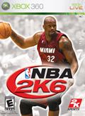 US Boxshot of NBA 2K6 (XBOX360)