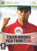 UK Boxshot of Tiger Woods PGA Tour 06 (XBOX360)
