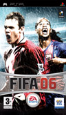 UK Boxshot of FIFA 06 (PSP)