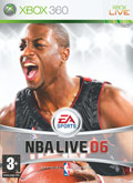 UK Boxshot of NBA Live 06 (XBOX360)