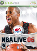 US Boxshot of NBA Live 06 (XBOX360)
