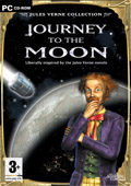 UK Boxshot of Jules Verne: Journey to the moon (PC)