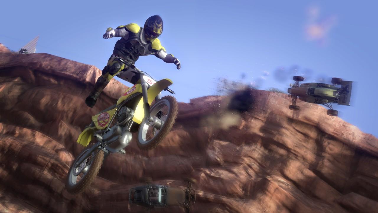 Screenshot of MotorStorm (PS3)