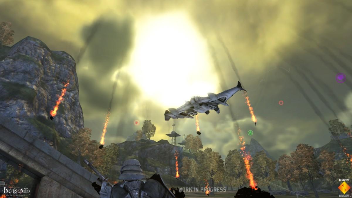 Screenshot of WarHawk (PS3)