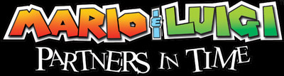 Logo of Mario & Luigi: Partners in Time (DS)