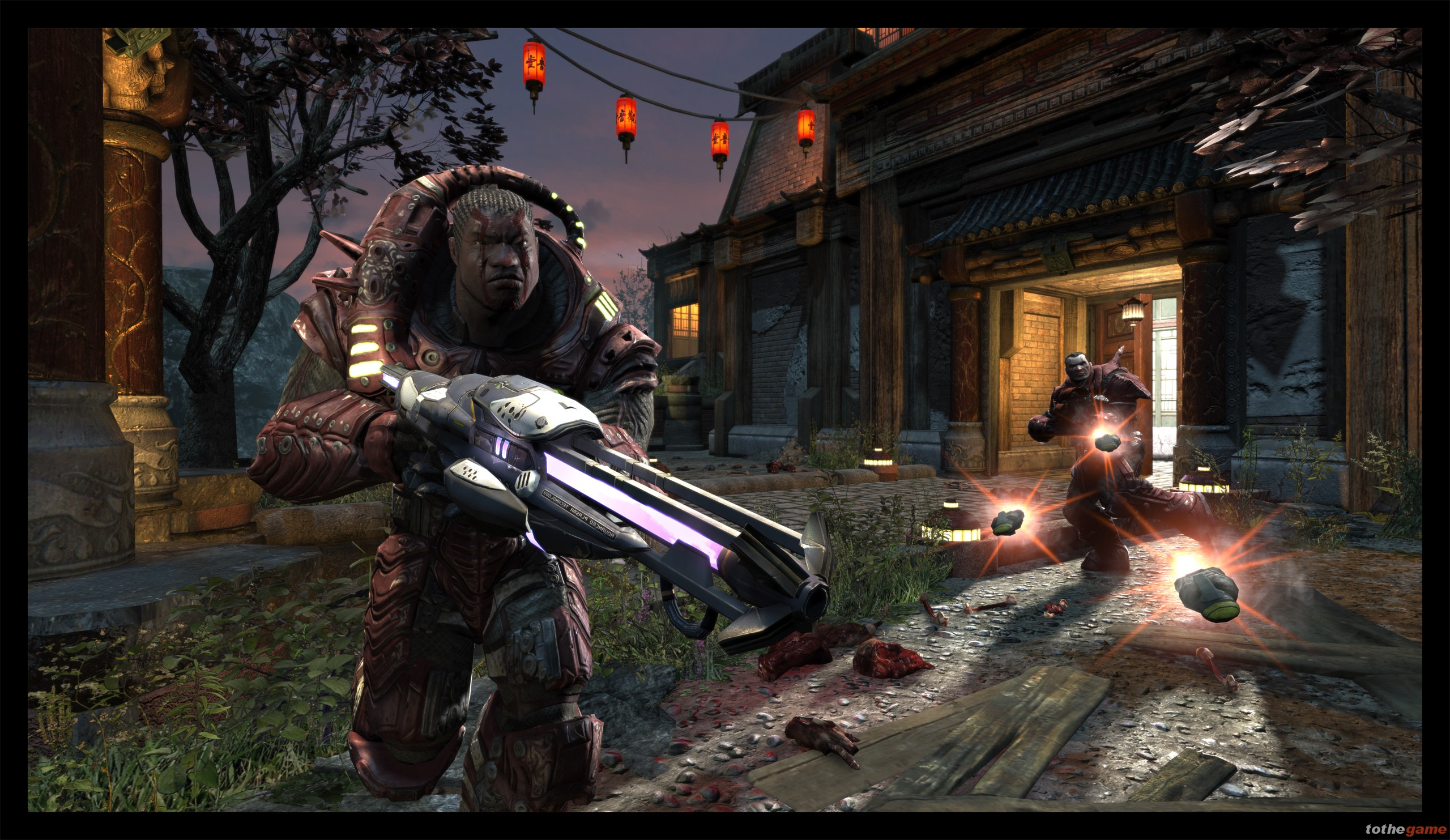 Screenshot of Unreal Tournament III (PS3)
