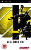UK Boxshot of Metal Gear Ac!d 2 (PSP)