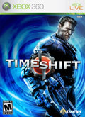 US Boxshot of TimeShift (XBOX360)