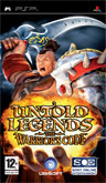 UK Boxshot of Untold Legends: The Warrior's Code (PSP)