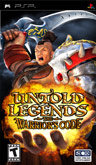 US Boxshot of Untold Legends: The Warrior's Code (PSP)