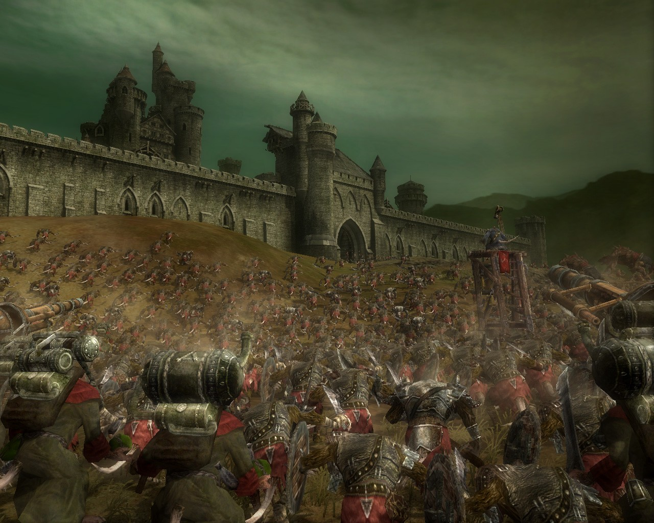 Screenshot of Warhammer: Mark of Chaos (PC)