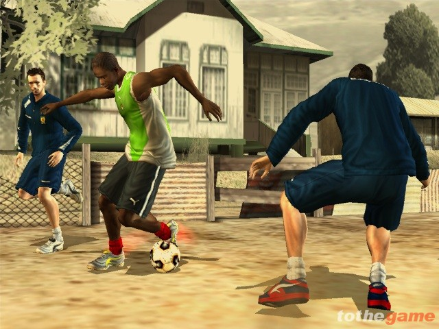 Screenshot of FIFA Street 2 (GAMECUBE)