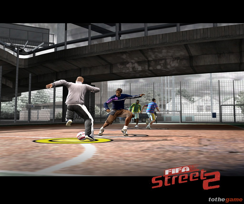 Screenshot of FIFA Street 2 (XBOX)