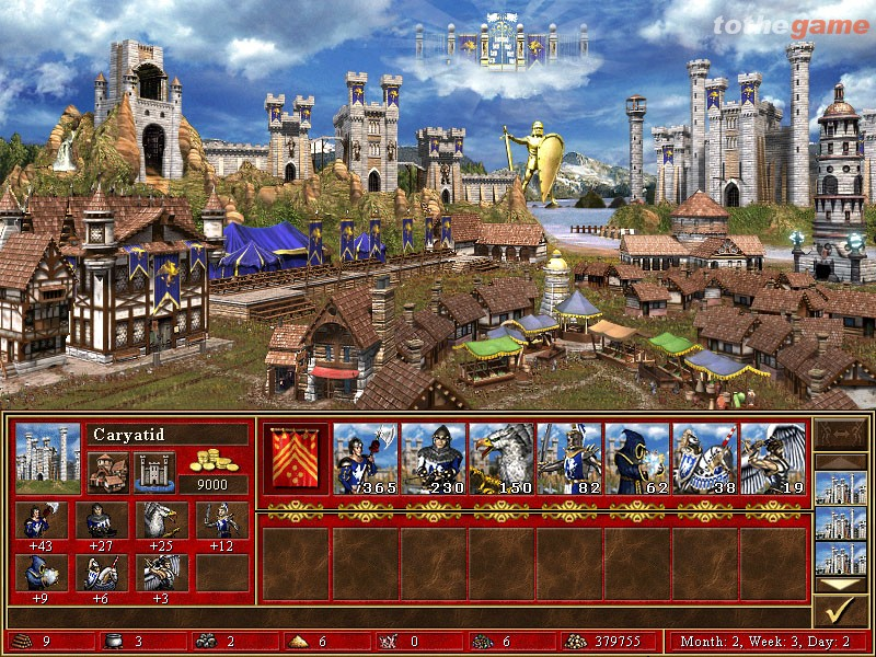 screen3 large Heroes of Might and Magic III: Complete Free Download [PC]