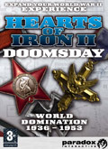 UK Boxshot of Hearts of Iron II: Doomsday (PC)
