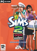 UK Boxshot of The Sims 2: Open For Business (PC)
