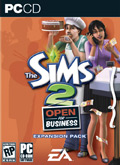 US Boxshot of The Sims 2: Open For Business (PC)